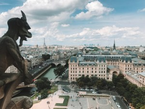 View from the Notre Dame Towers
