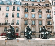 Statues outside the d'Orsay Museum in the 7th Arrondissement