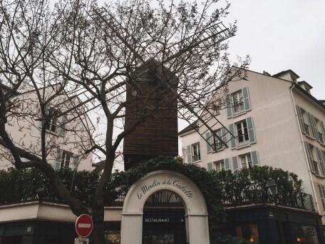 Le Moulin de la Galette in Montmartre