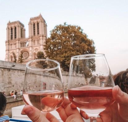 Wine best food in paris