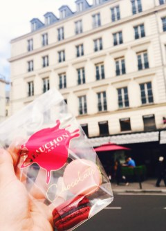Macarons Fauchon in Paris