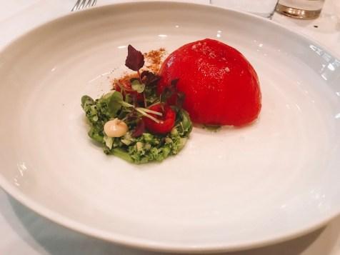 Best food in Paris- Entree at Au Bon Accueil