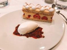 Best food in Paris- Dessert at Au Bon Accueil