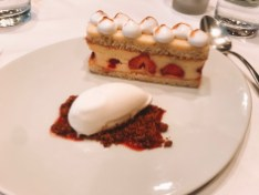Best food in Paris- Dessert at Au Bon Accueil