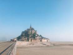 small towns in france mont saint michel