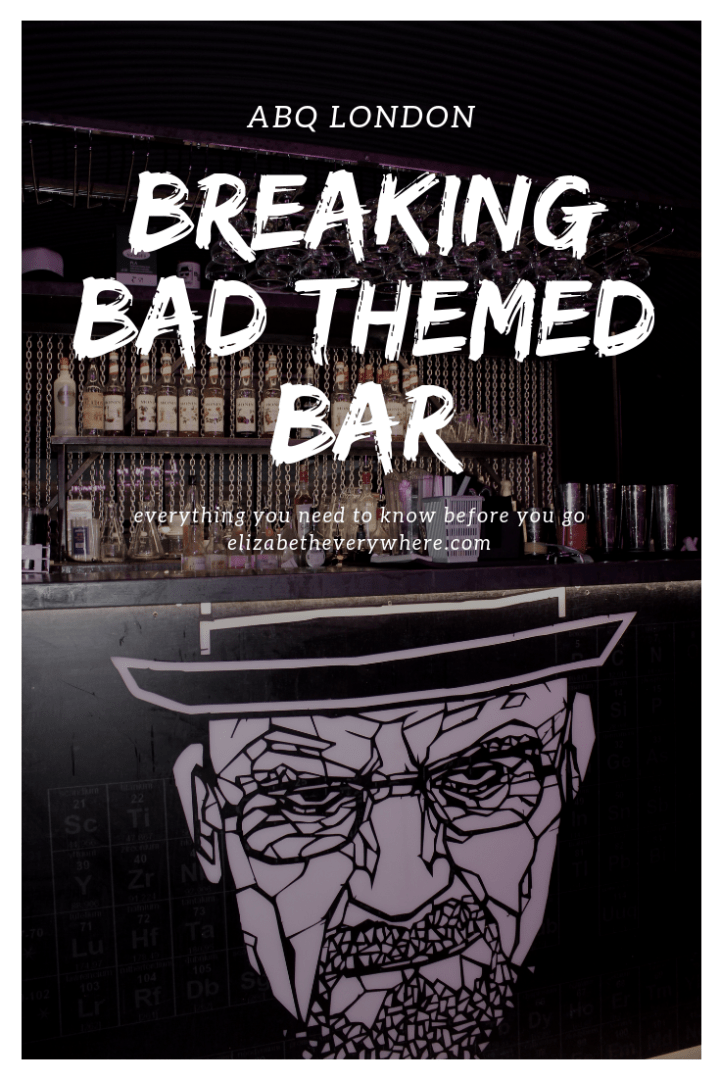 ABQ London Breaking Bad Bar
