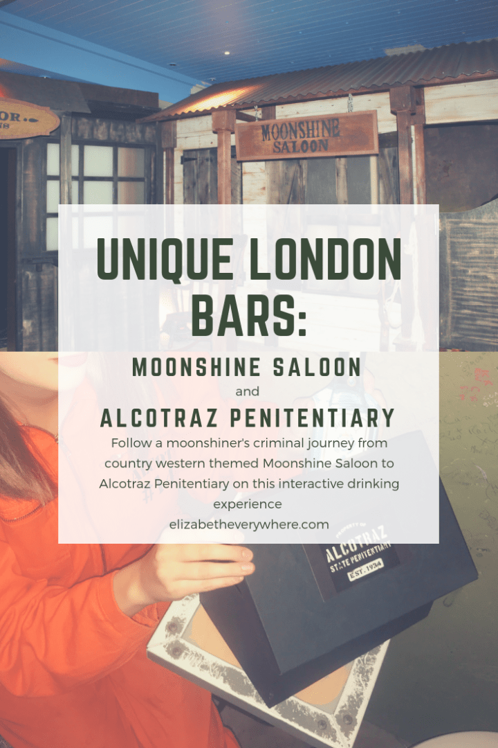 Moonshine Saloon and Alcotraz London