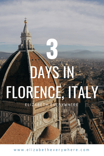 3 Days in Florence