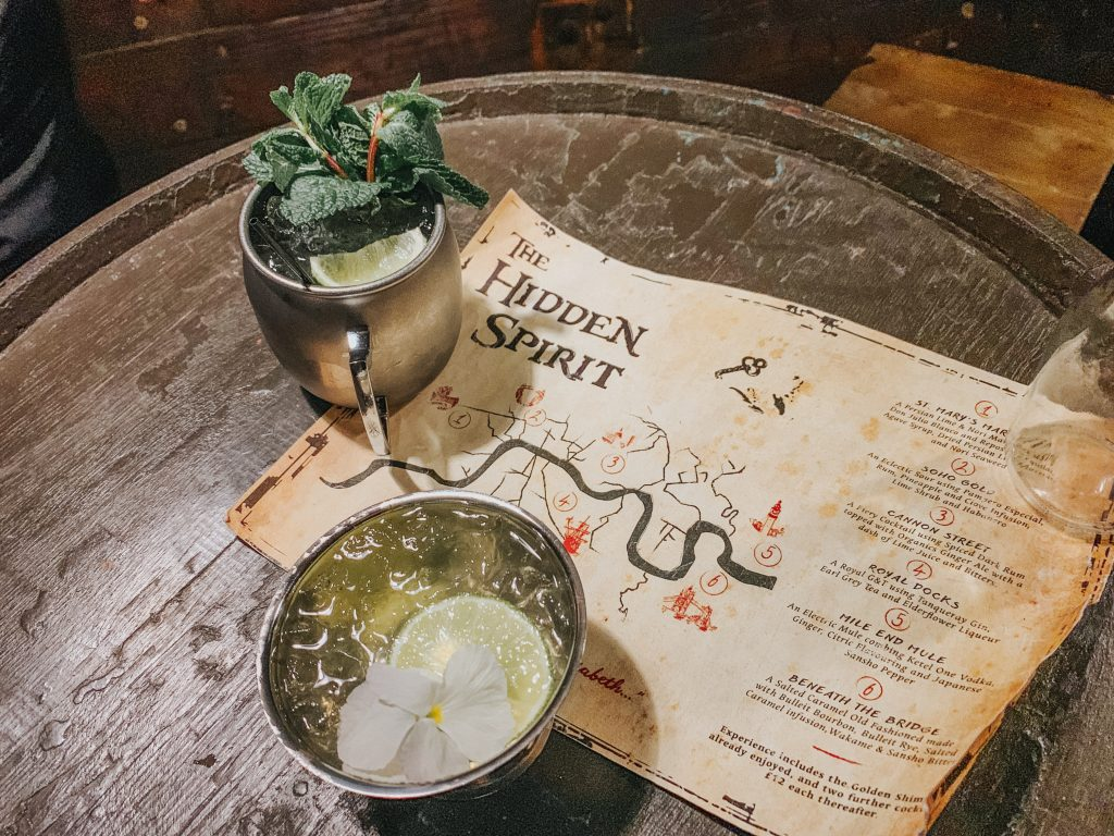 Pirates of the Hidden Spirit Themed Bars in London