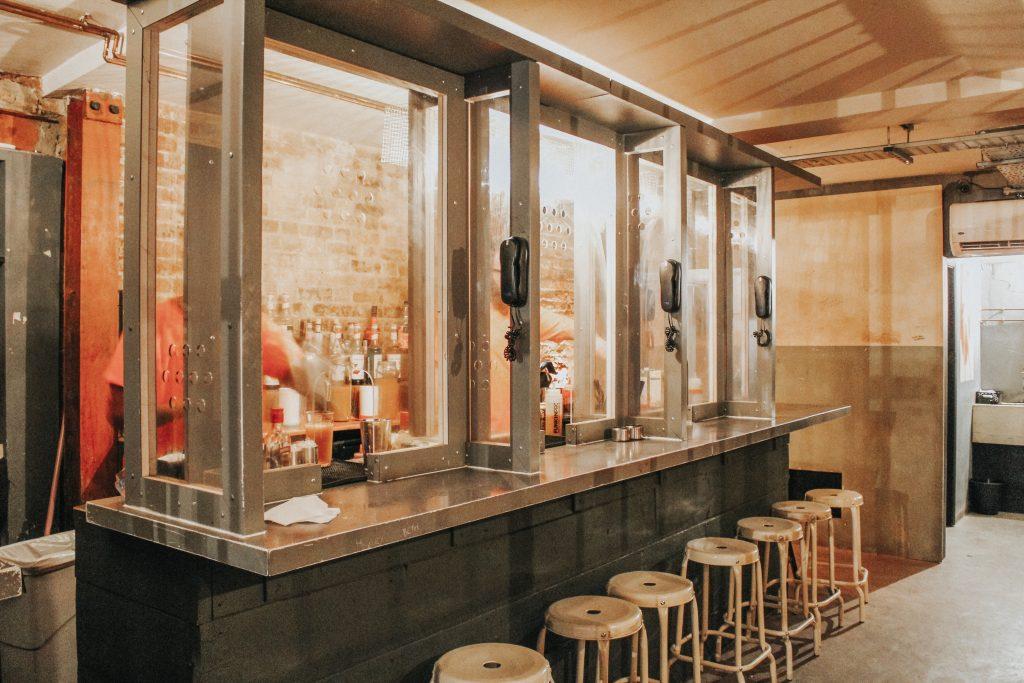 Bar at Alcotraz
