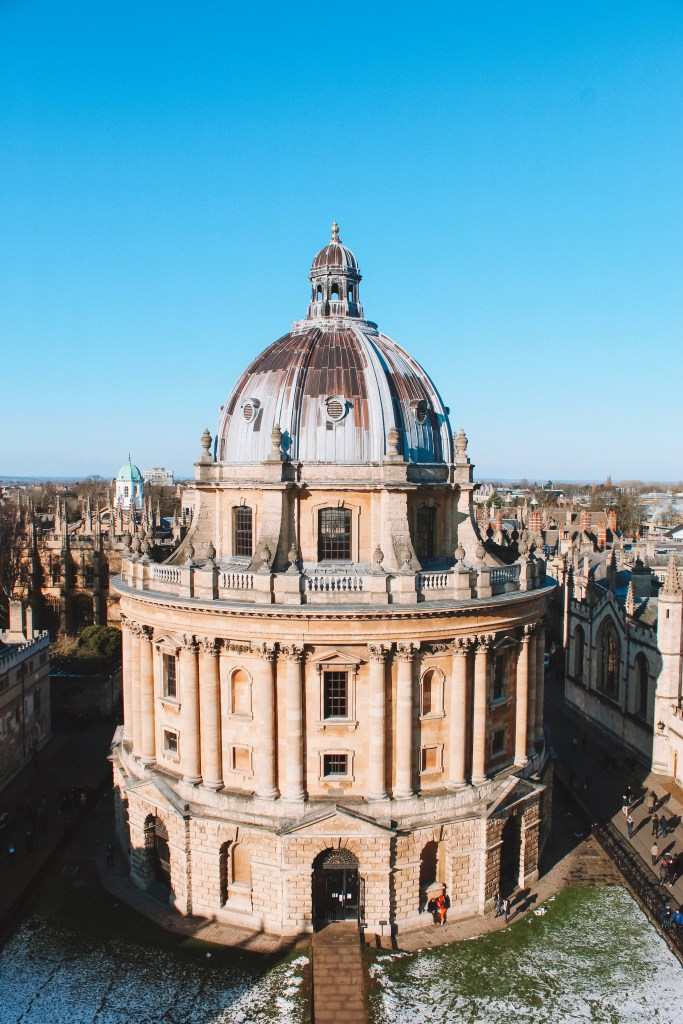 Radcliffe Camera day trip to oxford