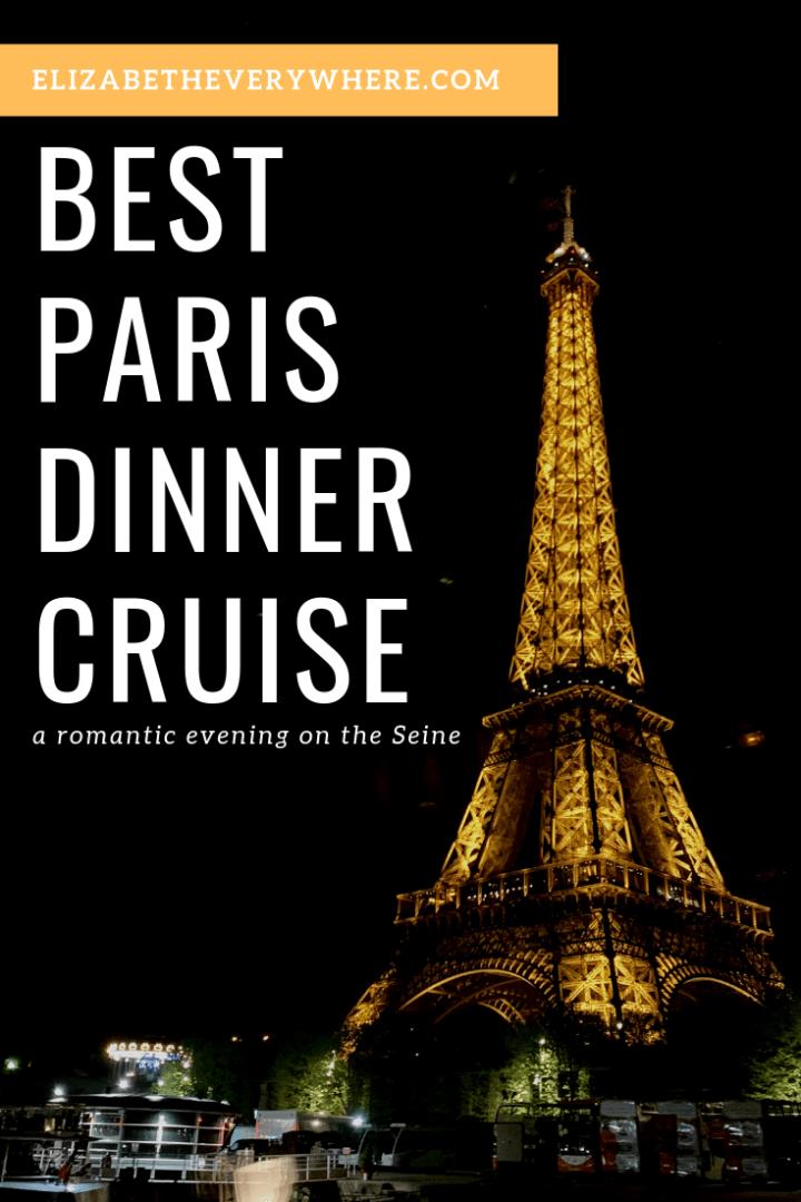 Best Paris Dinner cruise Bateaux Parisiens Review