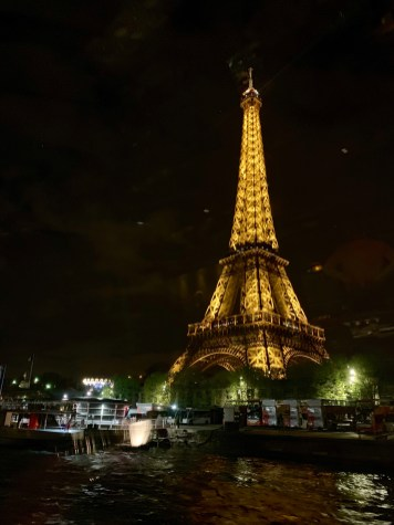 Eiffel Tower at Night Paris Dinner Cruise