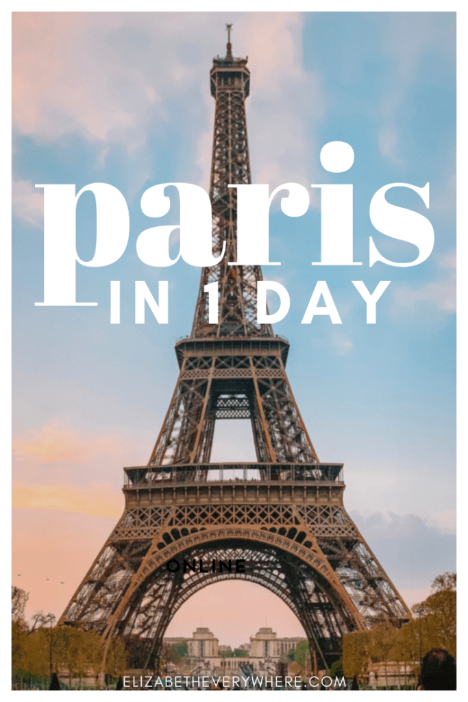 1 day in Paris