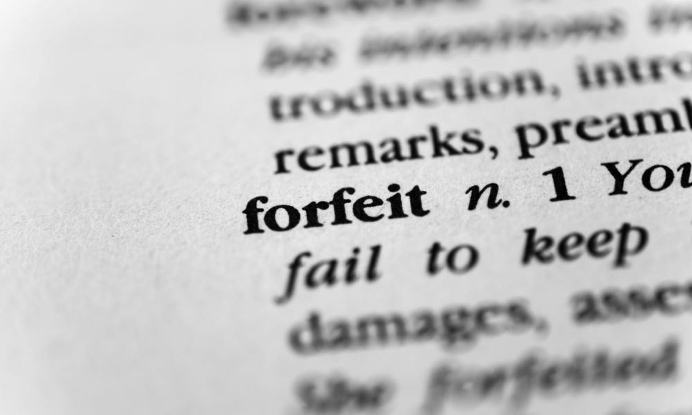 whats the difference between criminal and civil forfeiture