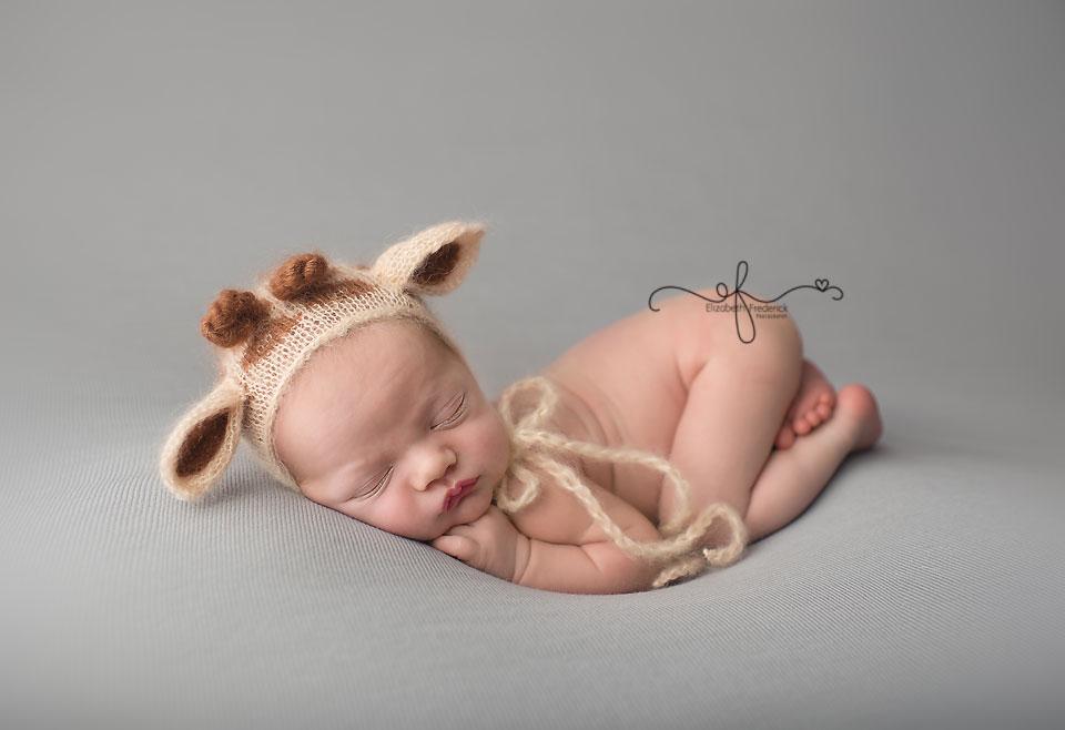 Giraffe Newborn | Noahs Ark | CT newborn photographer elizabeth frederick photography