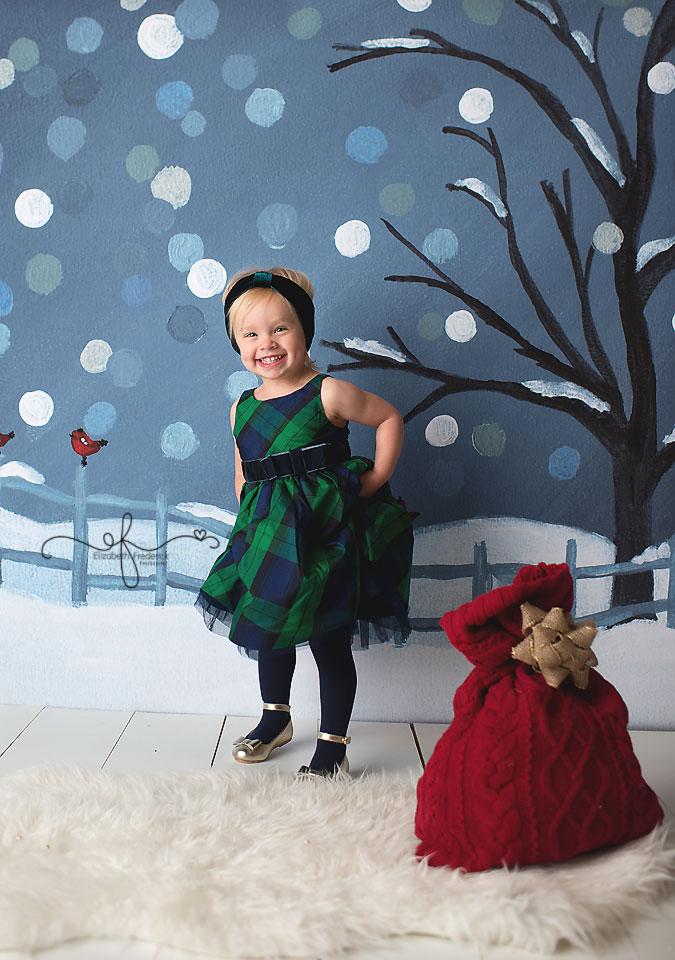 Holiday Mini Session | CT Photographer Elizabeth Frederick Photography