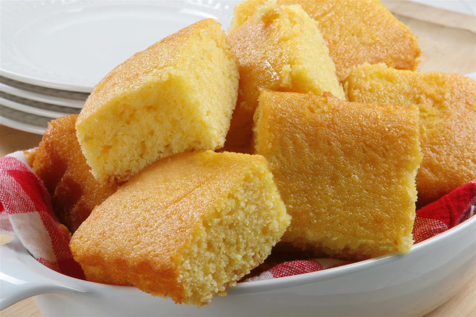 Homemade Corn Bread & Jalapeno Corn Bread