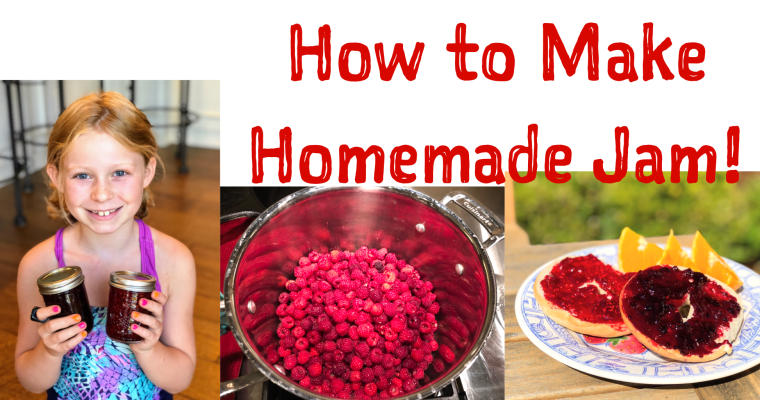 How to Make Berry Jam: Video & Recipe