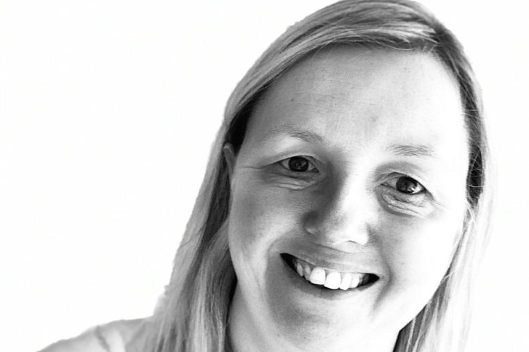 Black and White Photograph of Sarah, Wedding Planner at Elizabeth Grace Weddings