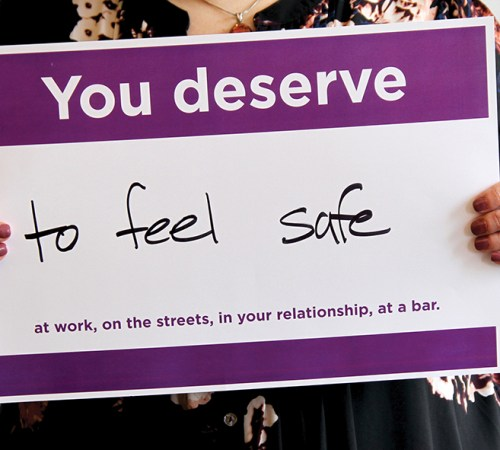 youdeserve poster - purple