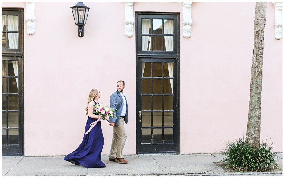 Light and Airy Engagement Photos in Downtown Charleston, South Carolina!