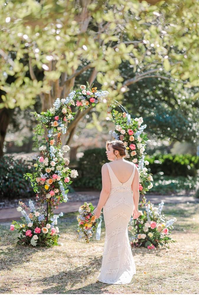 Off White Wedding Gown, Charleston Weddings
