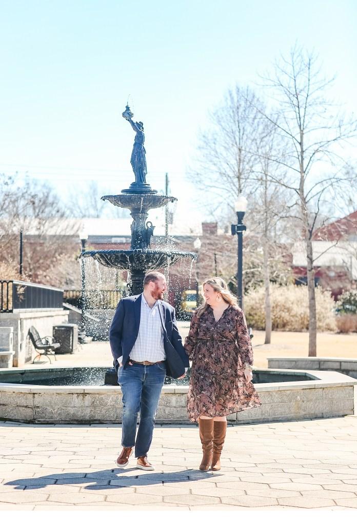 Engagement Photos in Madison GA