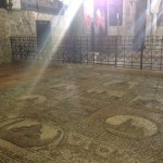 Mosaic Floors at the Church of the Holy Sepulchre