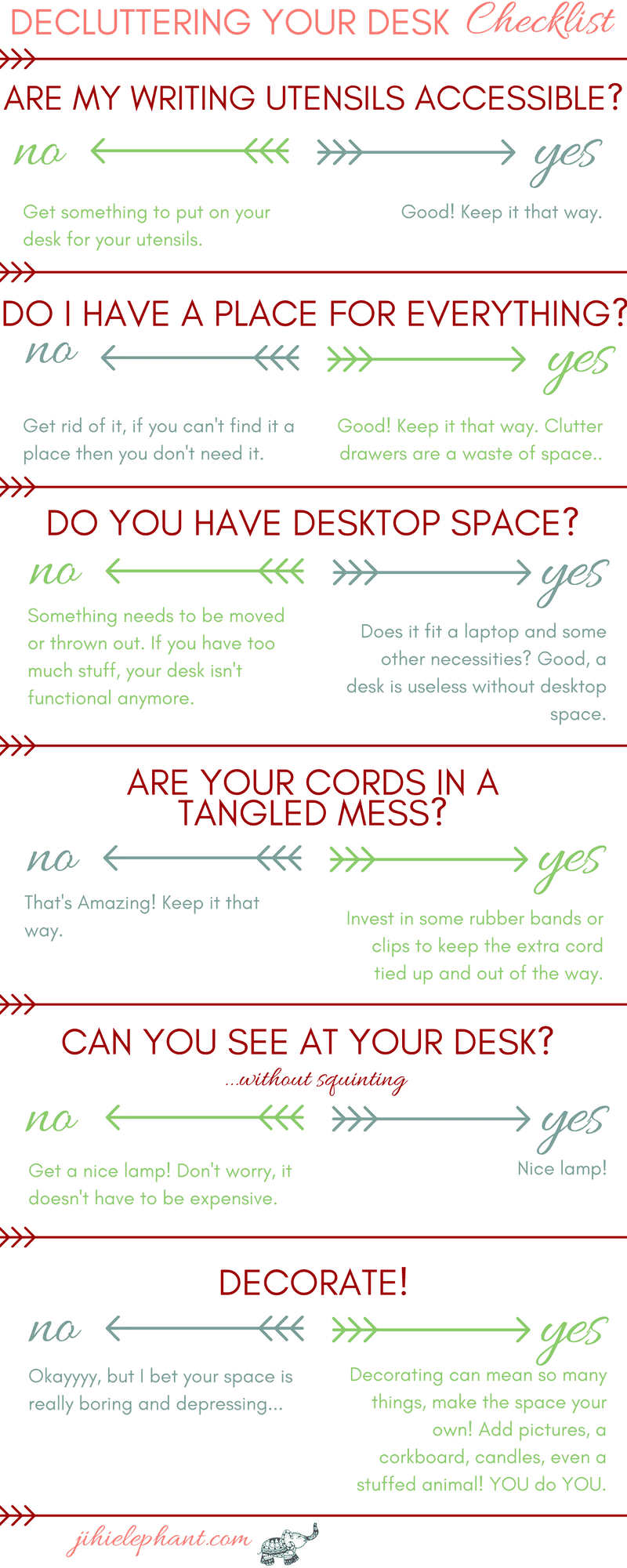 6 ways to declutter your desk space