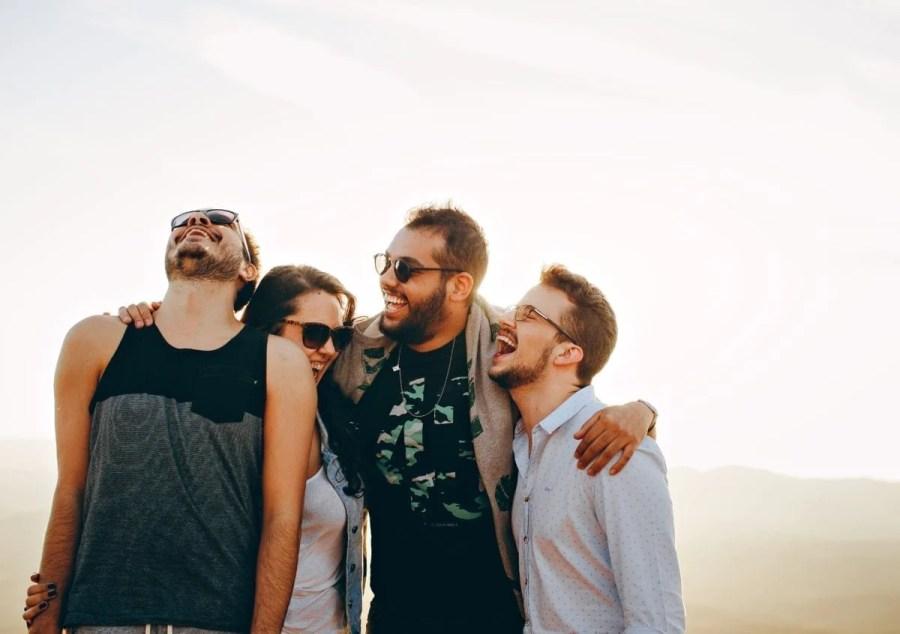 bonding-daylight-enjoying-group-smile-happy