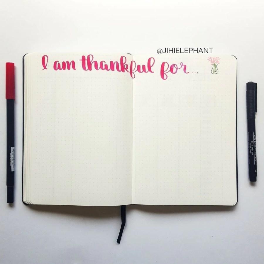 pink thankful gratitude Lacey