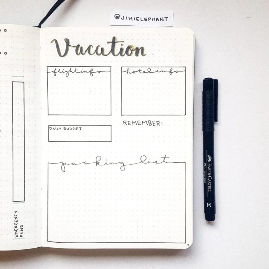 vacation travel track Emily