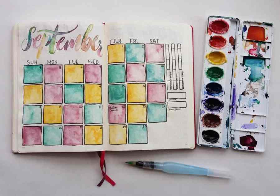 September Monthly by LittleCoffeeFox