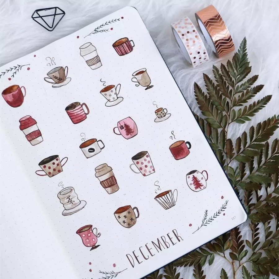 Hello December by @lolascraftjournal