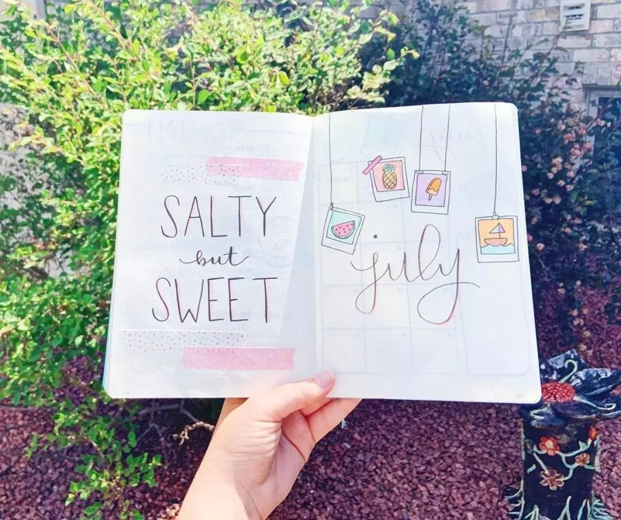 Summertime in July by @creative.krista