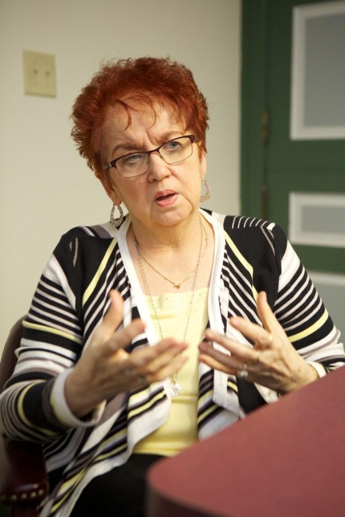 Executive Director Susan Glasier. (c) Chester Higgins Jr.