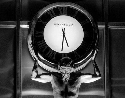 Sydney Tiffany clock