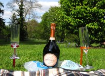 Laurent Perrier at Kew Gardens, London.
