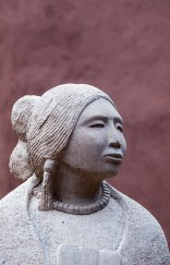 Sculpture, Museum of Contemporary Native Arts, Santa Fe, New Mexico.