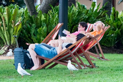 Chillin' in the chairs