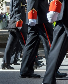 Marching in step (2)