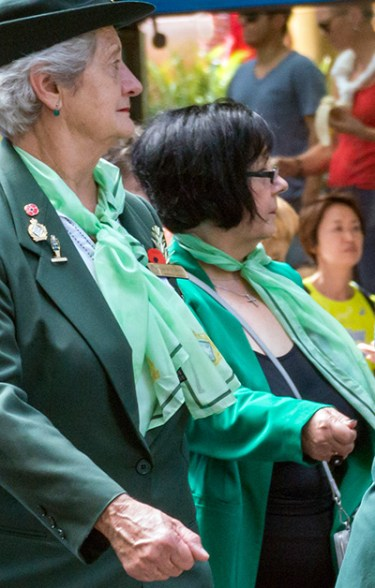 Former members of the women's army auxiliary.