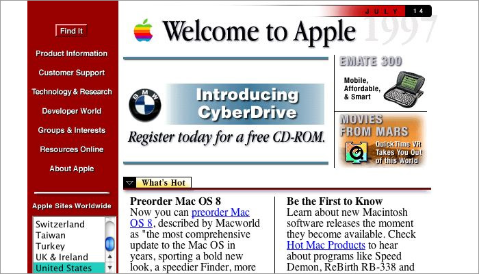 1990swebsiteexample