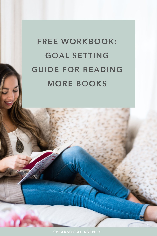 Goal Setting Guide for reading more books!