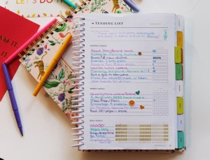2018 PowerSheets for intentional goal setting - How I use PowerSheets + my January Goals