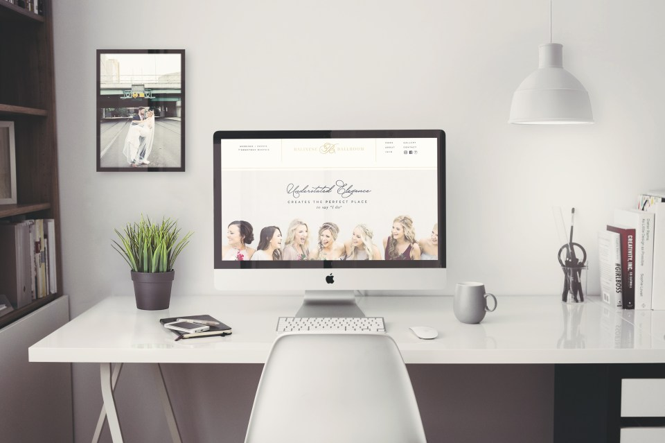 Balinese Ballroom Website and Branding