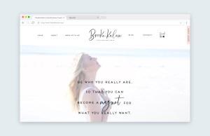 Brooke Kalan - Life and Business Coach Branding and Website Design