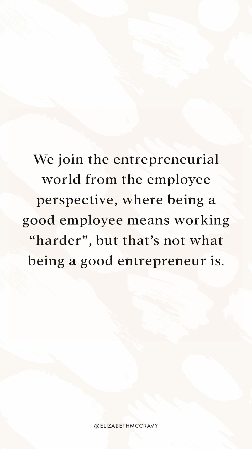 """We join the entrepreneurial world from the employee perspective, where being a good employee means working """"harder"""", but that's not what being a good entrepreneur is. If you're interested in how you can be more productive, scale your business, and work past mental blocks that are holding you back, then this podcast episode is for you."""