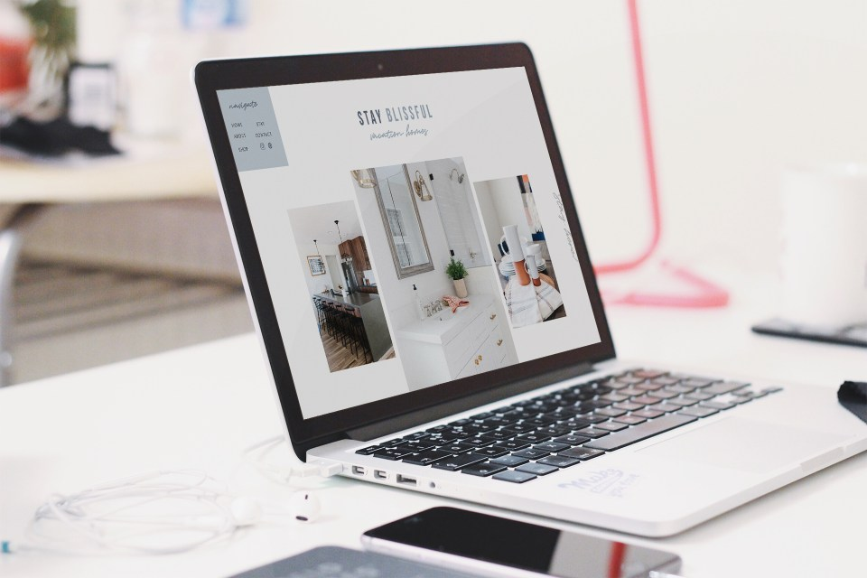 Showit Website Templates for interior designers by Elizabeth McCravy